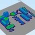 Easy to print Generic Bulldozer (esc: 1:100) image