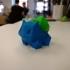 Color Low-Poly Bulbasaur image