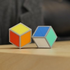 Cube Illusion (Rhombic Dodecahedron)