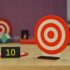 Nerf Dart Target