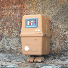 Picture of print of Gonk Droid