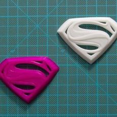 Man of Steel Superman Logo