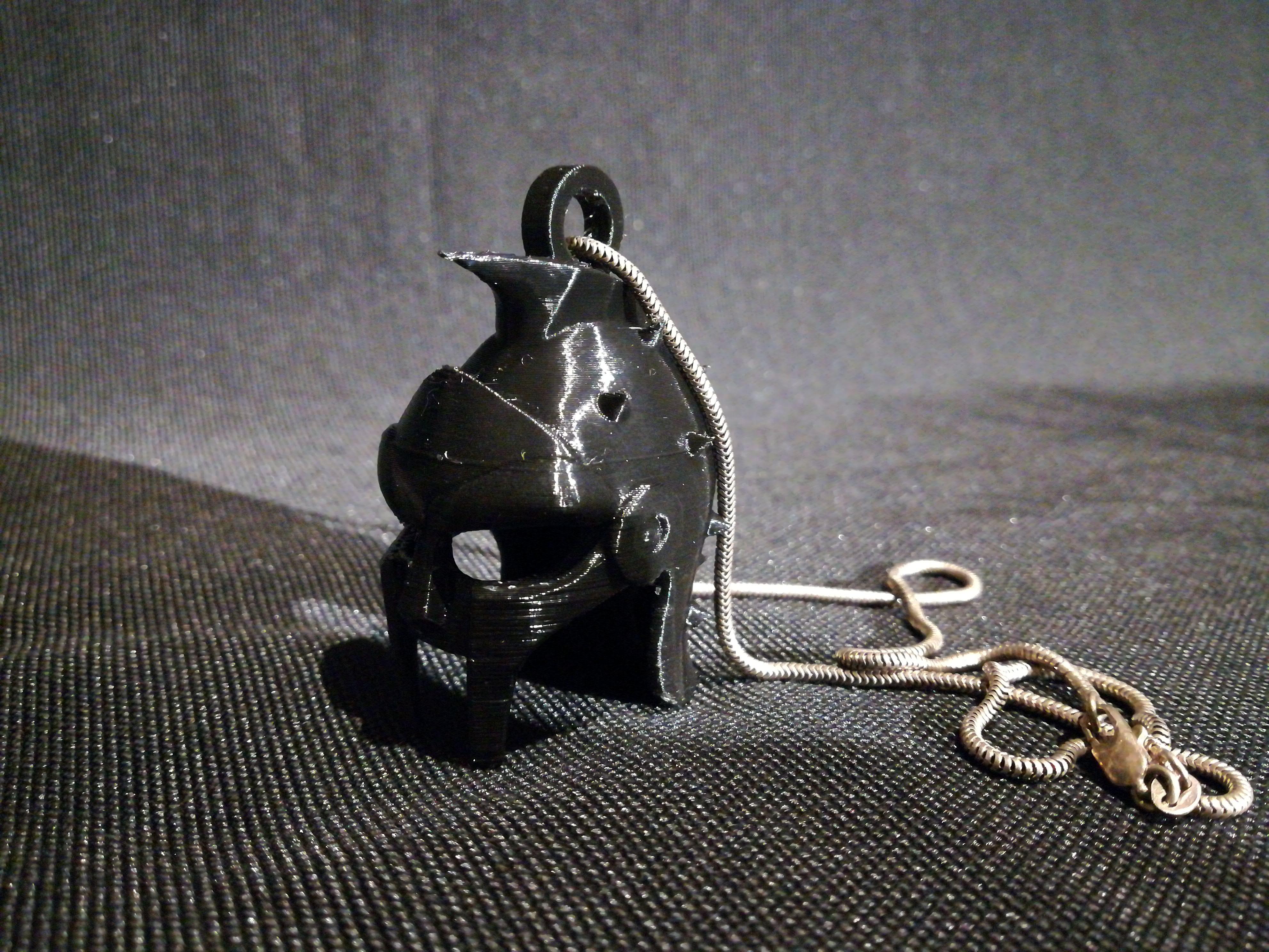 Helmet Gladiator Keychain image