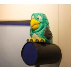 Multi-color Parrot Remix