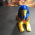 Multi-color Sphinx print image