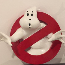 Picture of print of Ghostbusters Logo