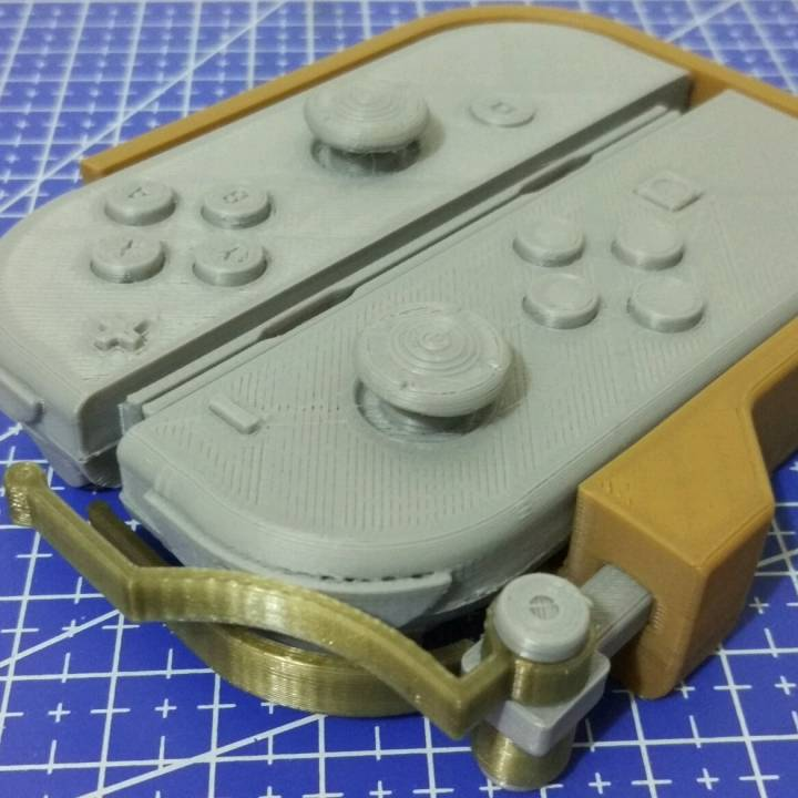 One-handed adapter for the Nintendo Switch Joy-Cons