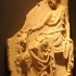 Relief with Maenad and goat image