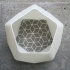 Geometric End Table image