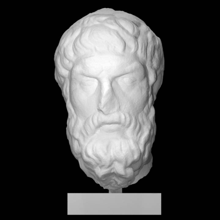 Portait of Epicurus