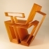 geometric chair image