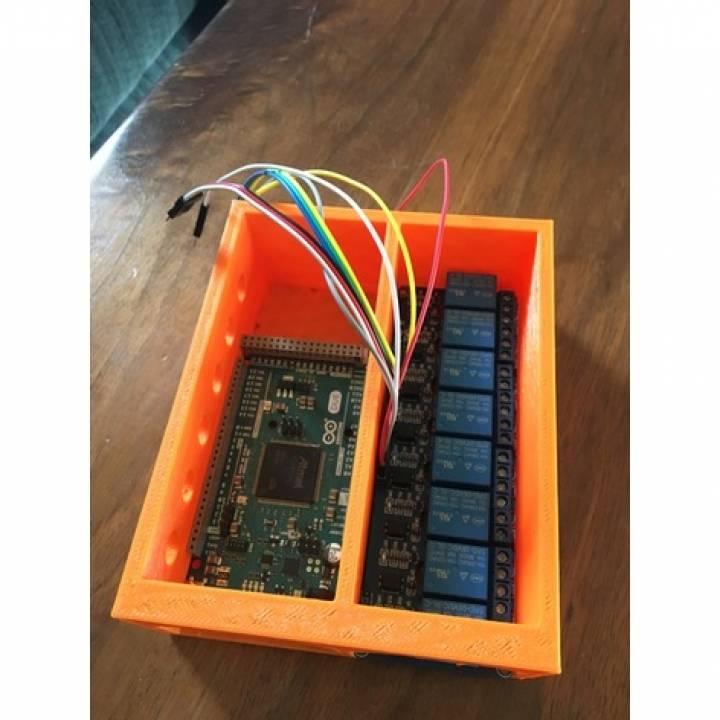 Descargar Arduino Due & 8 ch relay board less de John Doe on arduino motor, arduino switch, arduino thermostat, arduino sensors, arduino starter kit, arduino thermistor, arduino transistor, arduino car, arduino program, arduino display, arduino thermocouple, arduino radar, arduino computer, arduino schematic, arduino blink, arduino breadboard, arduino circuit, arduino garden, arduino solenoid, arduino pins,