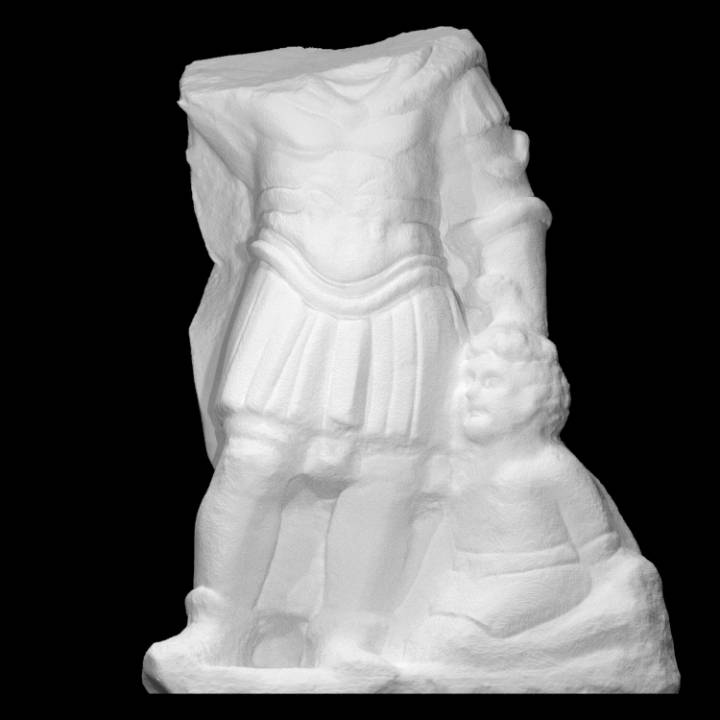 Marble Fragment of a Man