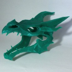 Dragon skull from Skyrim
