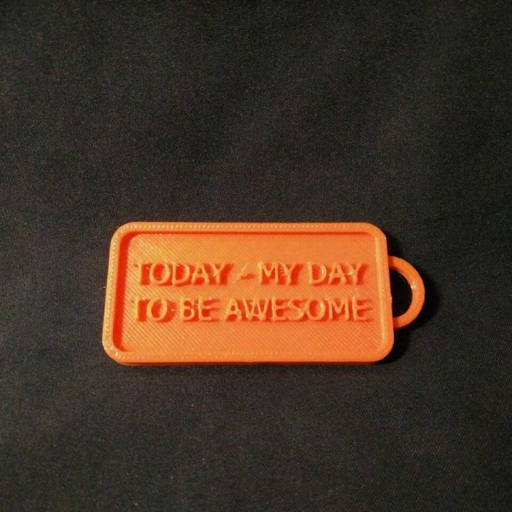 Simple Keychain - Awesome Today