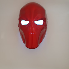 Picture of print of Deathstroke Mask with two eyes