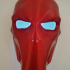 Deathstroke Mask with two eyes print image