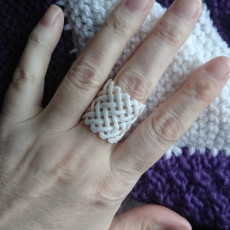 Picture of print of Woven Ring - Size 9 1/2