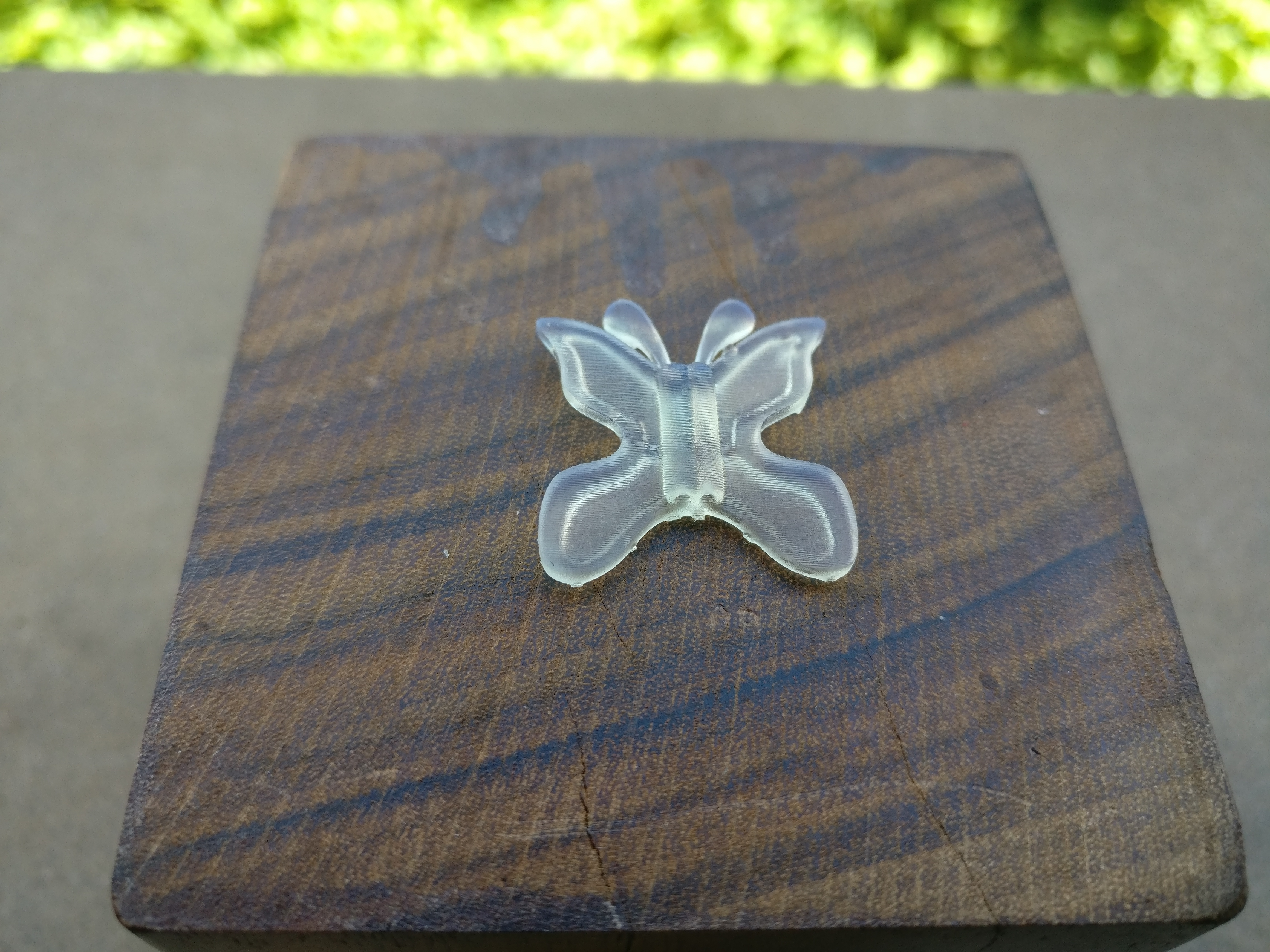 Pendant butterfly image