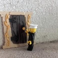 miniature door