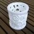 White porcelain pencil case image