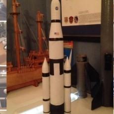 SLS Orion Model Rocket