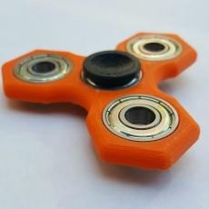 Hex Fidget Spinner w/ 608 Bearings!