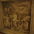 Relief: Baptist Preaching- Siena Baptistery image