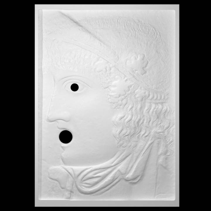 Bas-relief with Mask