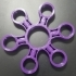 Six Ball Bearing Fidget Spinner image
