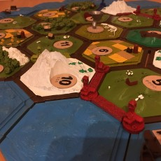 Picture of print of Settler of catan collection (magnetic)