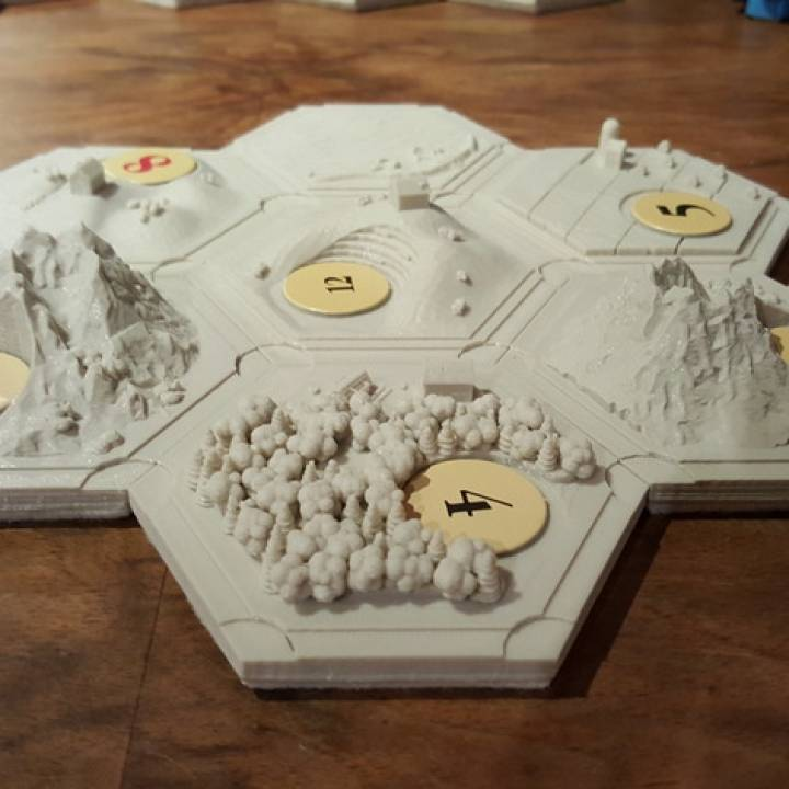 Settler of catan collection (magnetic)