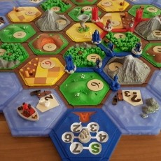 Cities & knights (expansion for settlers of catan)