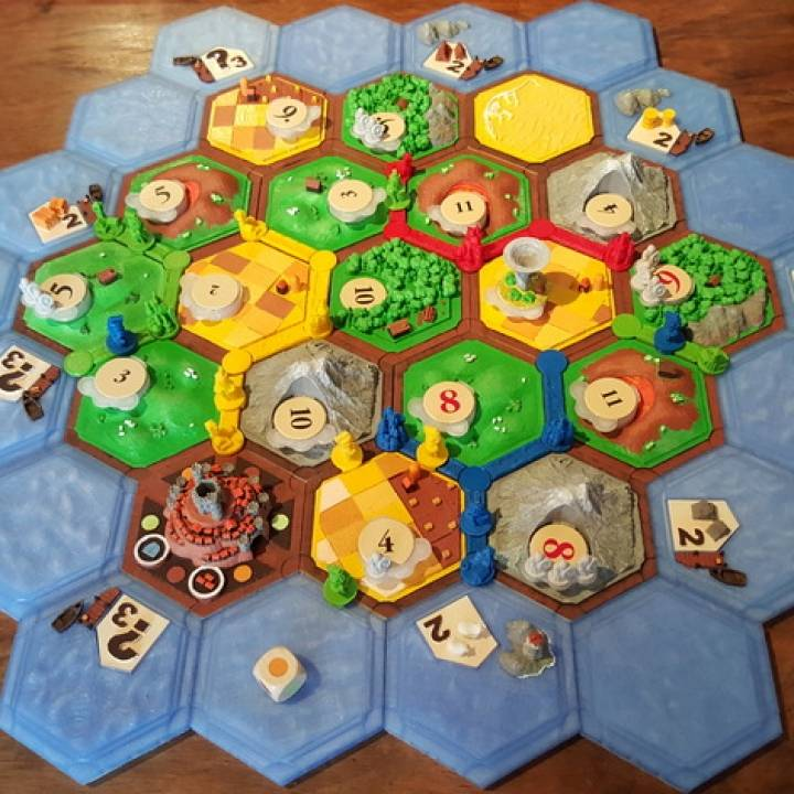 Traders & barbarians (expansion for settlers of catan)