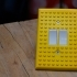 Lego Compatible Light Switch Cover image