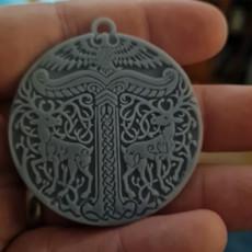 Picture of print of Pendant Viking Irminsul