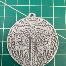 Picture of print of Pendant Viking Irminsul This print has been uploaded by Tyler Public Library