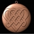 Keychain Celtic Knot Heart image