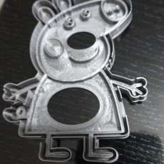 Picture of print of Peppa pig cutter