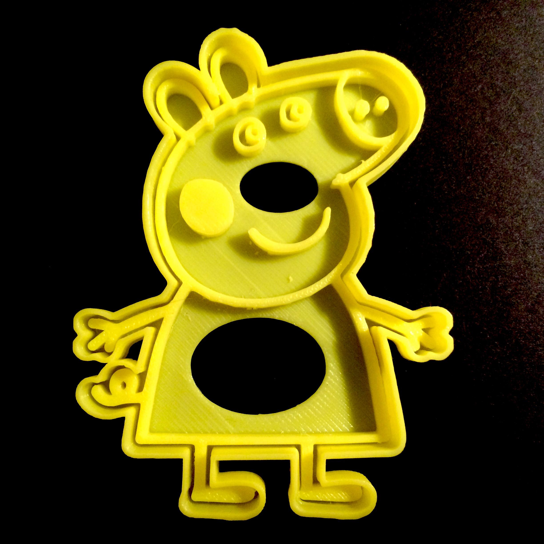 Peppa pig cutter image