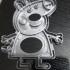 Peppa pig cutter print image