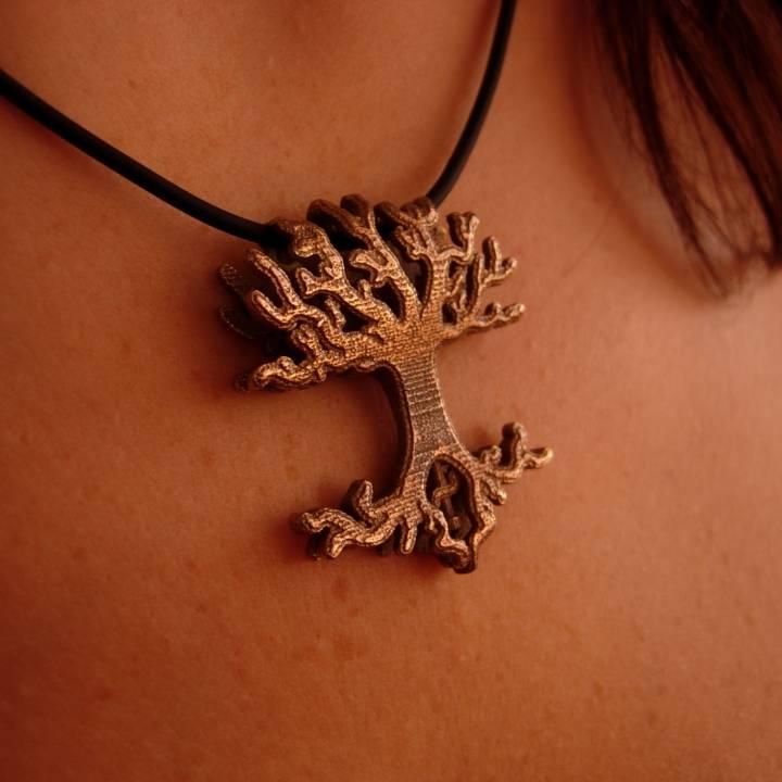 Lingalad Tree Pendant