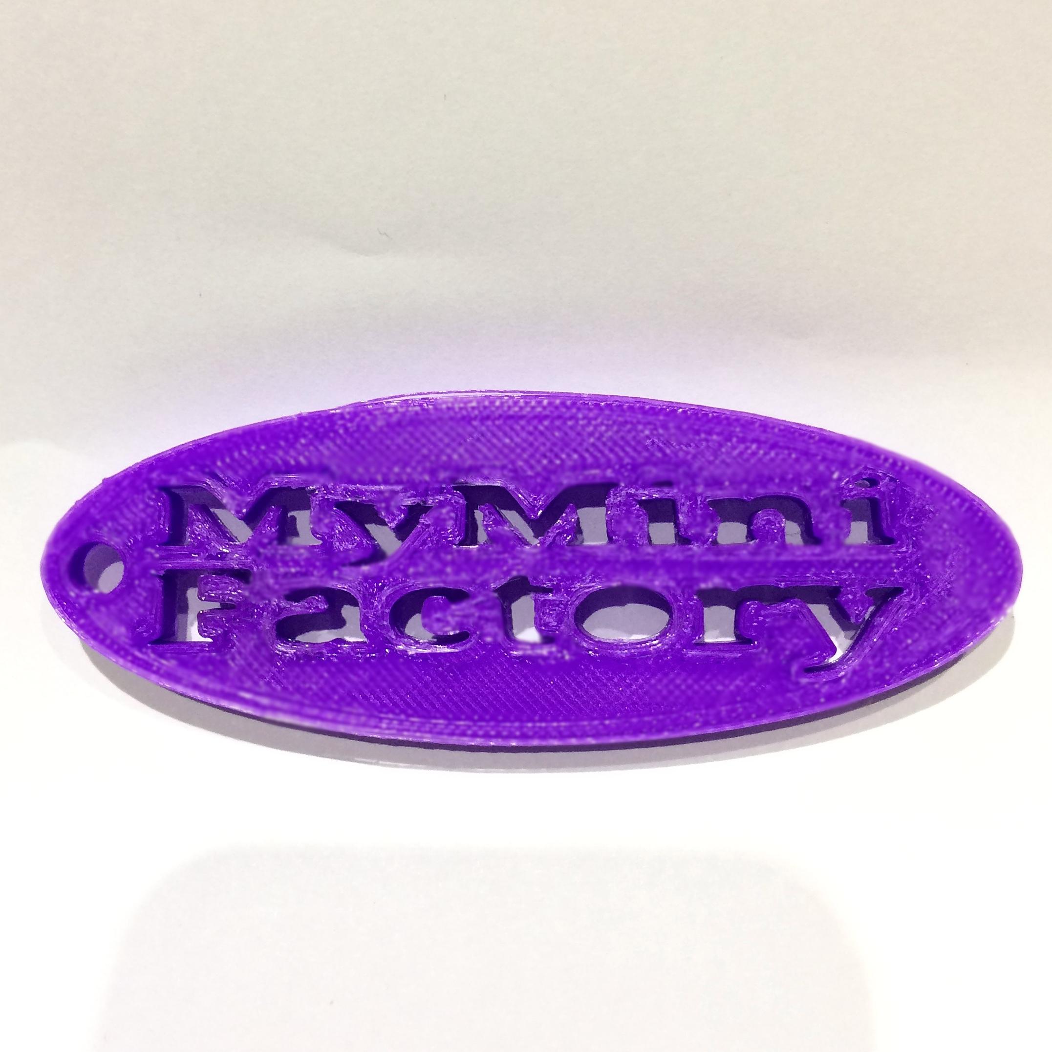 MyMiniFactory_keychain image