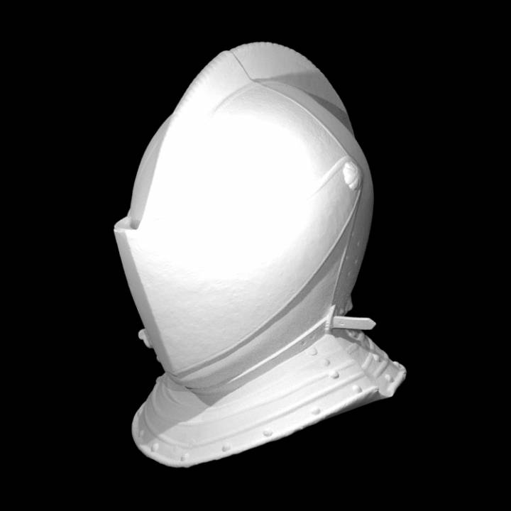 Helmet - 16th Century Italian Armour