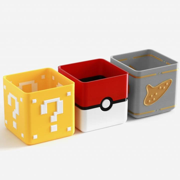 Video Game Planter Collection