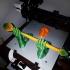 3D Printing Guardian - Wall Mounted Filament Spool Holder print image