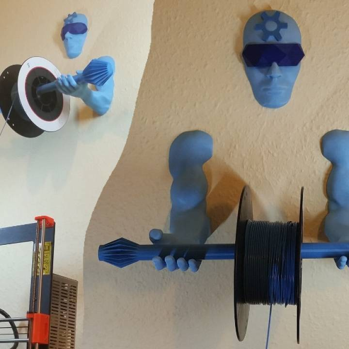 3D Printing Guardian - Wall Mounted Filament Spool Holder