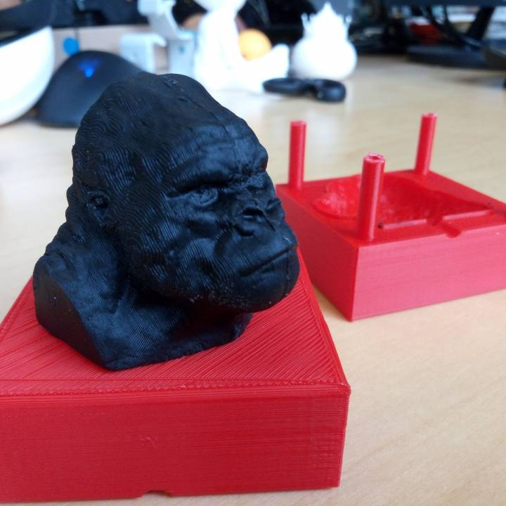 Harambe Mould for Modelling Clay