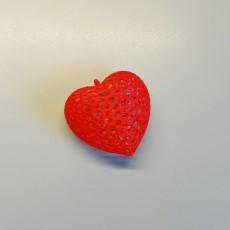 Picture of print of Heart - Voronoi Style This print has been uploaded by Andrea Montalti