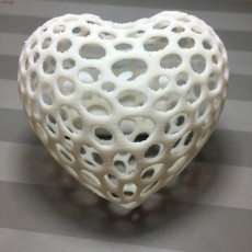 Picture of print of Heart - Voronoi Style This print has been uploaded by SANDRA ARELLANO